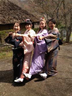 【開催報告】着物で桜並木を歩こう(4/28)