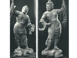 木造二天立像(国指定重要文化財)