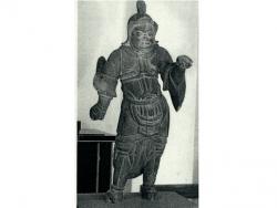 毘沙門天立像(北上市指定有形文化財)