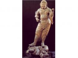 木造毘沙門天立像(国指定重要文化財)