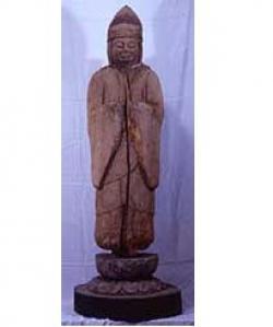 木造男神立像 (県指定有形文化財)