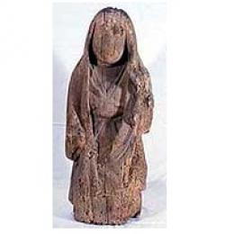 木造女神立像 (県指定有形文化財)