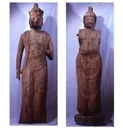 木造十一観音立像 (県指定有形文化財)