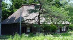 多聞院伊澤家住宅 と 久那斗神社 (国指定重要文化財)