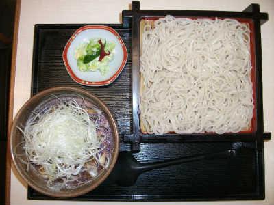 ねぎせいろかしわ<つけ麺>880円(税込)