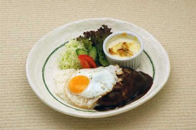 ロコモコ&ミニグラタンプレート 1,030円(税込)画像