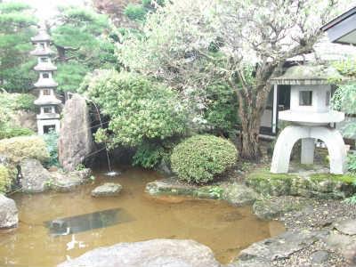 ご自宅の池