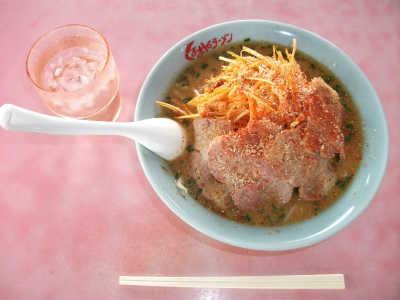 ねぎ味噌チャーシューメン(1,020円)