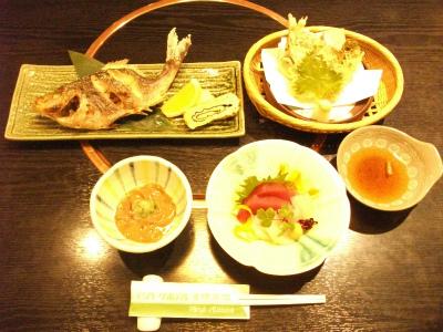 青柳店料理