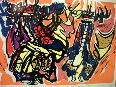 作品・鹿踊り