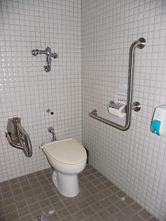 夏油高原スキー場障がい者用トイレ