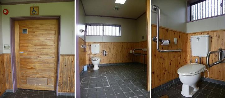岩手県立農業ふれあい公園内せせらぎ広場内トイレ 障がい者用