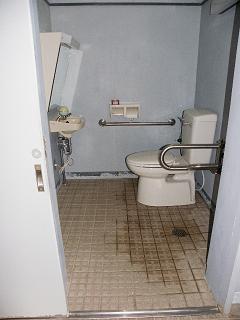 カムイヘチリコホ内障がい者用トイレ