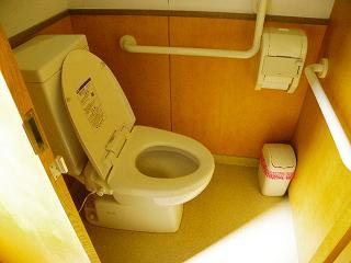 サトウハチロー記念館障がい者用トイレ